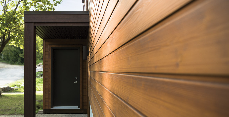 Siding jermyn lumber ltd for Planche bois exterieur